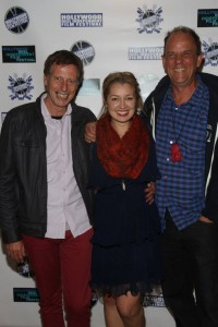Jessica Howell with Alan Clay and Stewart Fulljames